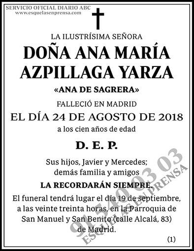 Ana María Azpillaga Yarza